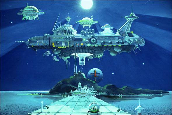 Каким было будущее. Космореализм Роберта МакКолла. Изображение № 7.