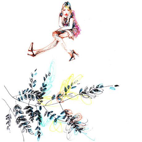 Иллюстрации Antoinette-Fleur. Изображение № 9.