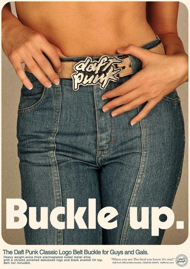 Daft Punk прорекламировали свой мерч на ретро-постерах. Изображение № 6.