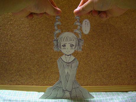 Фотоработы аниме избумаги. Изображение № 14.