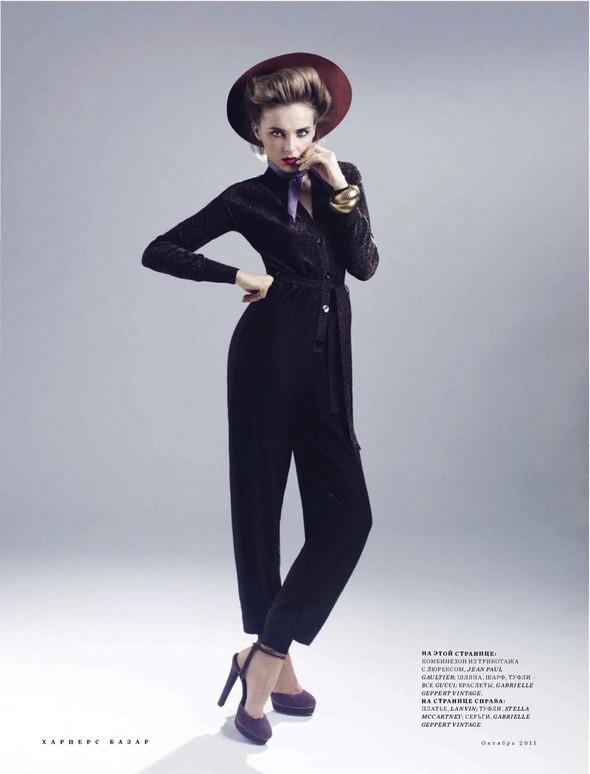 Съёмка: Снежана Онопка для Harper's Bazaar. Изображение № 8.