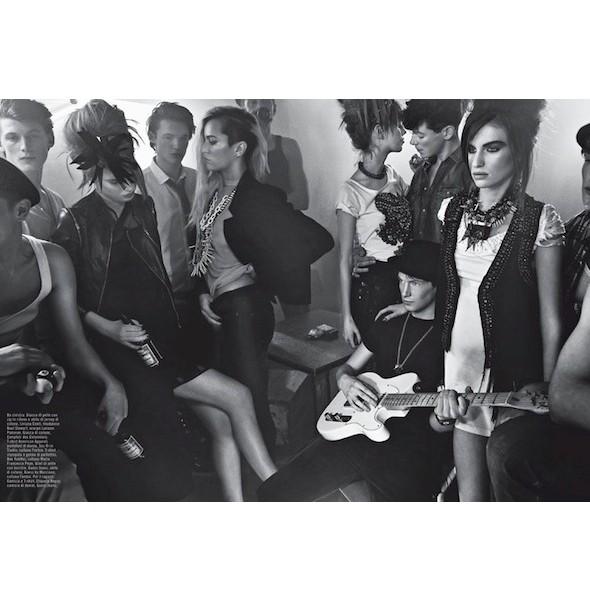Изображение 26. Съемки: Dazed & Confused, Numero и Vogue.. Изображение № 26.