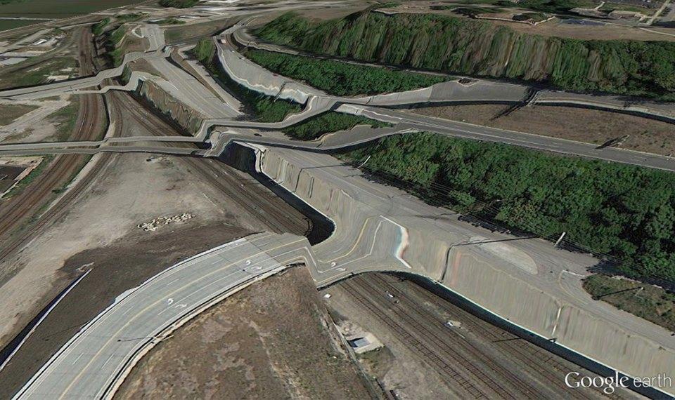 32 фотографии из Google Earth, противоречащие здравому смыслу. Изображение № 25.