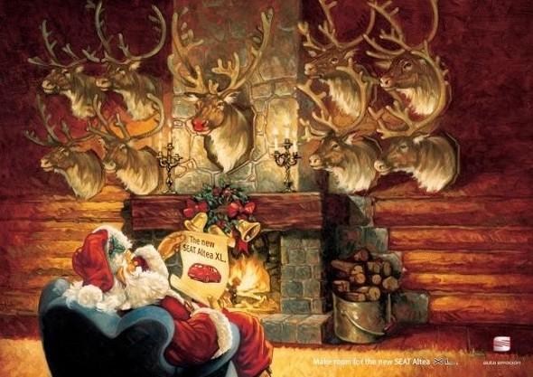 69 рождественских рекламных плакатов. Изображение № 62.