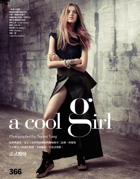 Съёмка: Йосефин Родерманс для тайваньского Vogue. Изображение № 1.