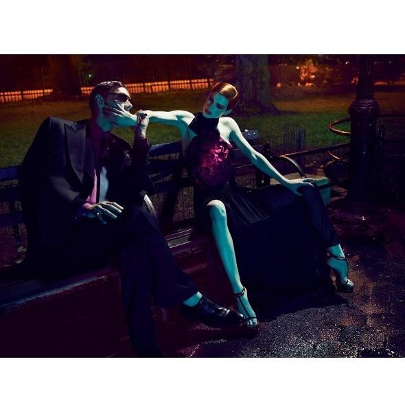 Съёмка: Саския де Брау в Gucci для Interview. Изображение № 1.