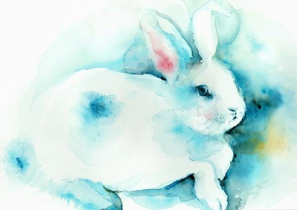 Изображение 54. Amber Alexander - животные, сияющие акварелью.. Изображение № 52.