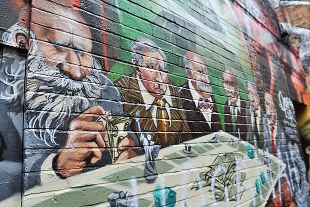 В Лондоне хотят разрушить протестное граффити. Изображение № 2.