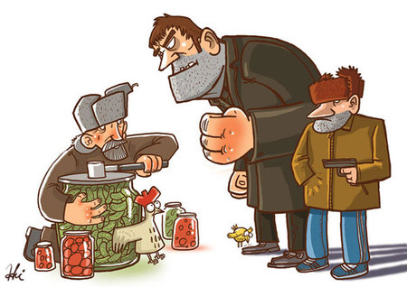 Ироничные иллюстрации Сергея Ратникова. Изображение № 23.