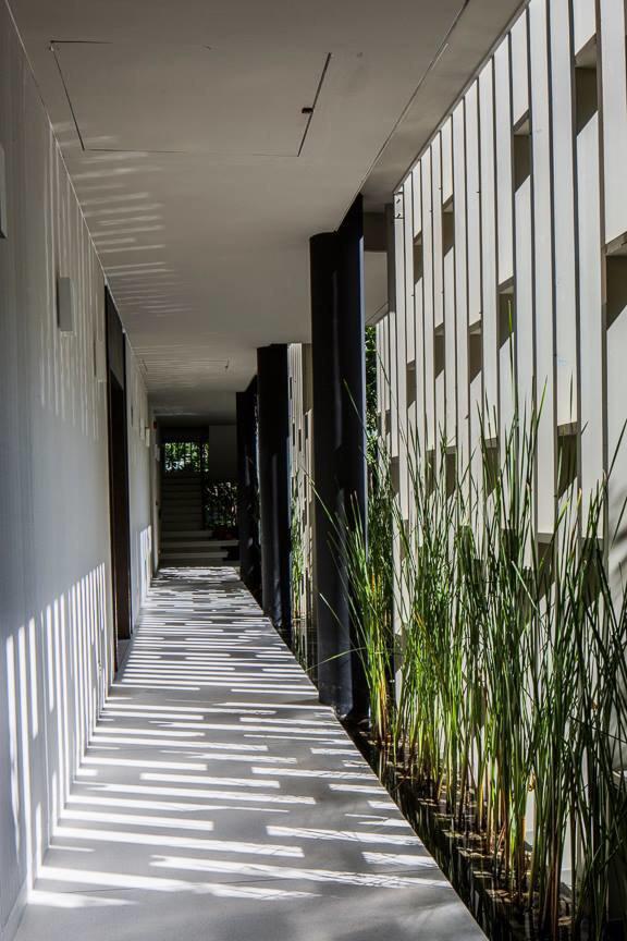 Архитектура дня: белый спа-центр во Вьетнаме с растениями на фасаде. Изображение № 33.
