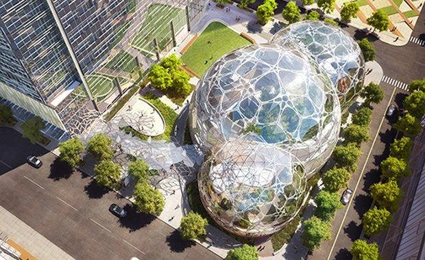Amazon построит биокуполы в Сиэтле. Изображение № 1.