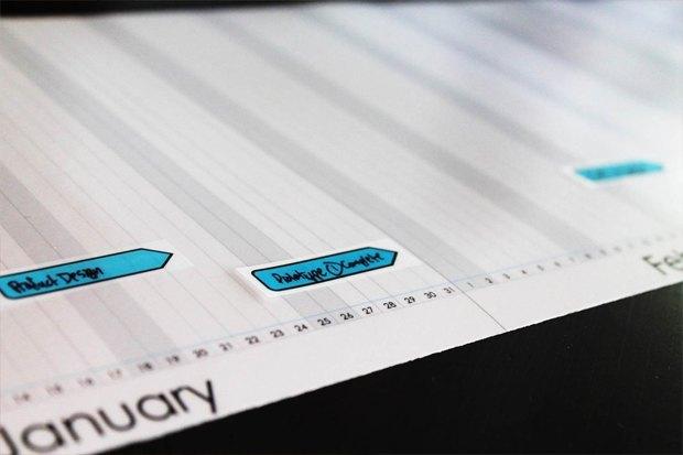 Американец собрал деньги на таймлайн-календарь. Изображение № 3.