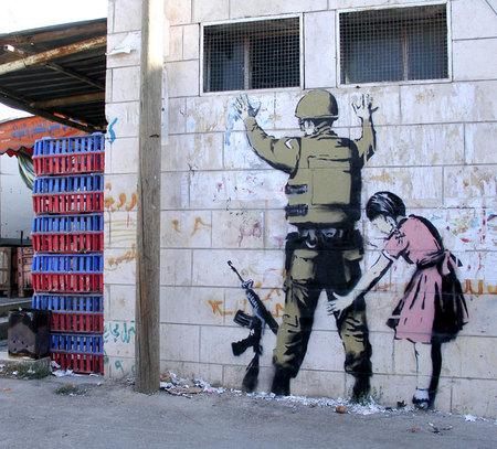 Изображение 1. Очередное граффити отБэнкси ушло за400000.. Изображение № 1.
