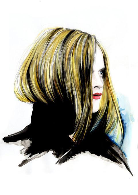 Изображение 32. Акварельные иллюстрации Caroline Andrieu.. Изображение № 32.