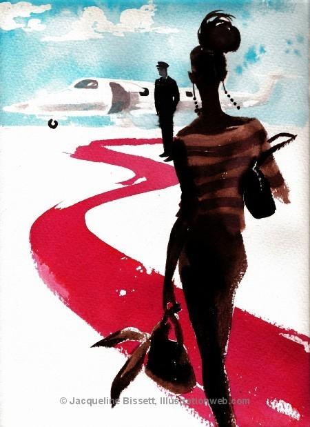 Иллюстратор Жаклин Биссет. Изображение № 7.