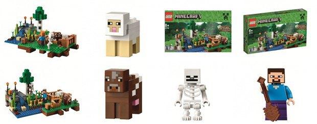 Российский магазин «слил» в Сеть новые наборы Lego Minecraft . Изображение № 5.
