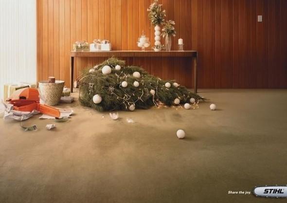 69 рождественских рекламных плакатов. Изображение № 17.