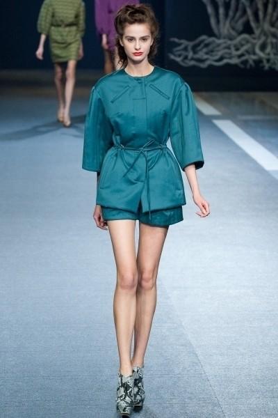 Volvo Fashion Week. День 3. Alena Akhmadullina FW 2011. Изображение № 11.