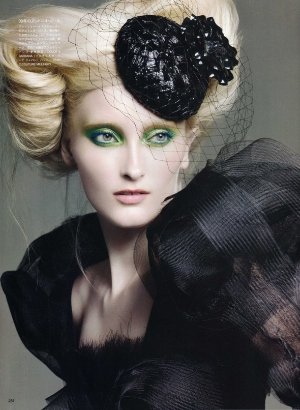 Vogue Nippon Beauty: September 2009. Изображение № 4.