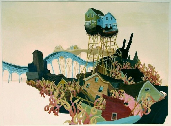 Города сточки зрения иллюстратора ЭмиКэйси. Изображение № 18.