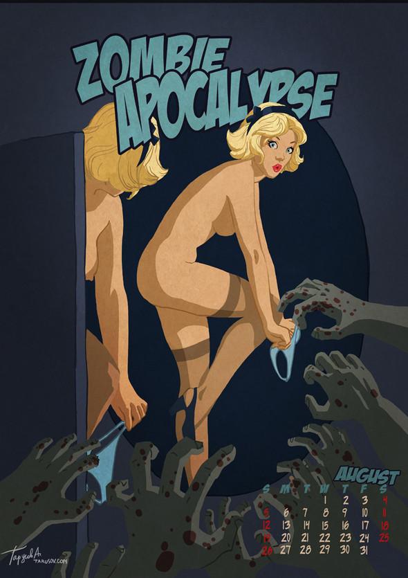Apocalypse Tomorrow. Календарь, 2012. Изображение № 9.