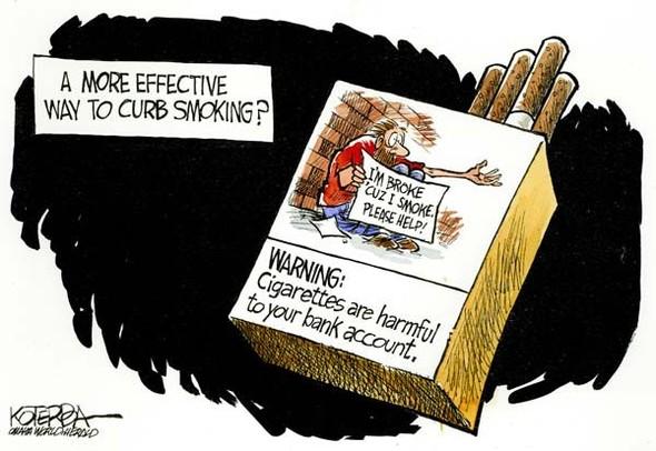 Минздрав рисует: художники об устрашающих картинках на пачках сигарет. Изображение № 1.