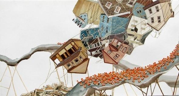 Города сточки зрения иллюстратора ЭмиКэйси. Изображение № 2.