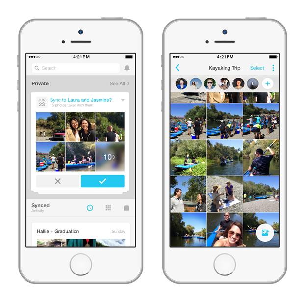 Facebook Creative Labs издало приложение для обмена фото. Изображение № 1.