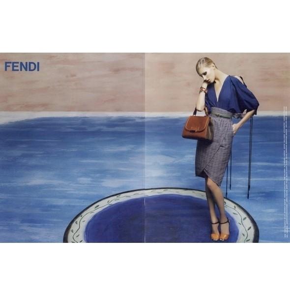 Изображение 2. Рекламные кампании: Fendi, Pepe Jeans и Trussardi 1911.. Изображение № 2.