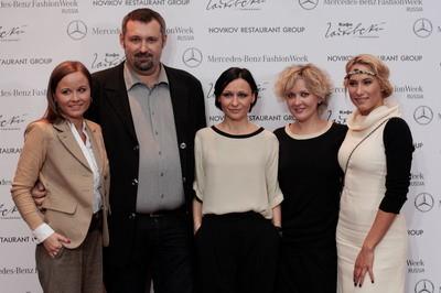 Пресс-ланч: за неделю до старта Mercedes-Benz Fashion Week Russia. Изображение № 1.