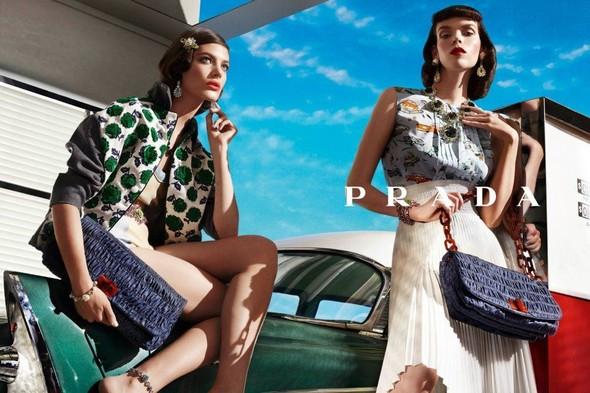 Кампания: Prada SS 2012. Изображение № 13.