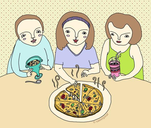Забавные иллюстрации sweetpirat. Изображение № 11.