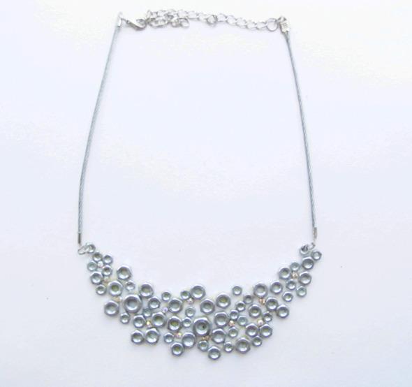 Ожерелья из цепей гаек и сантехнического шнура. Часть1. Изображение № 25.