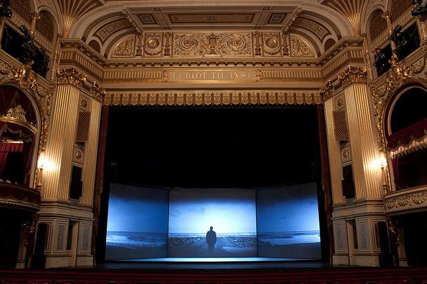 Сцена Королевского театра Дании. Изображение № 1.