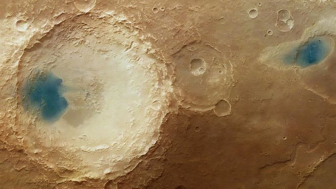 Фото дня: синие пятна на Марсе . Изображение № 1.