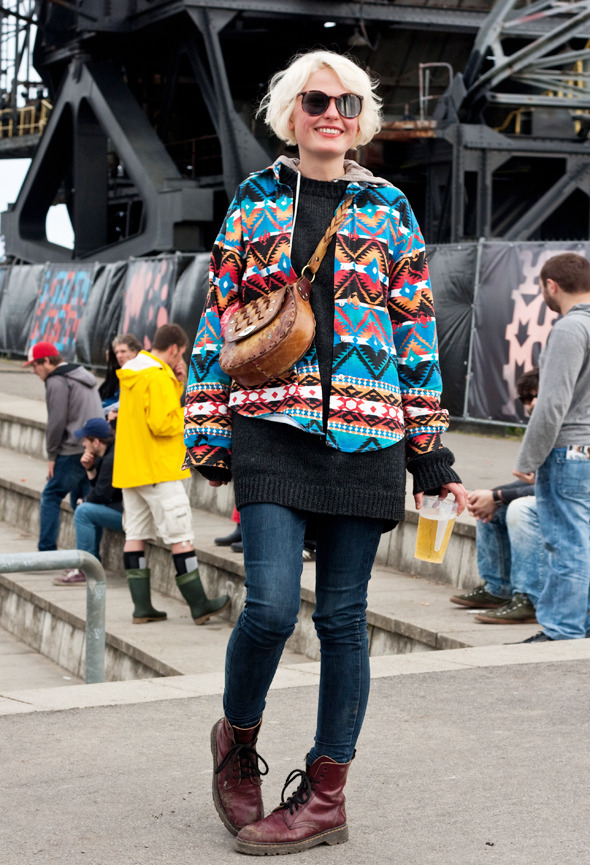 Золотые шорты, джинсовые рубашки и шляпы: Люди на фестивале MELT!. Изображение № 9.