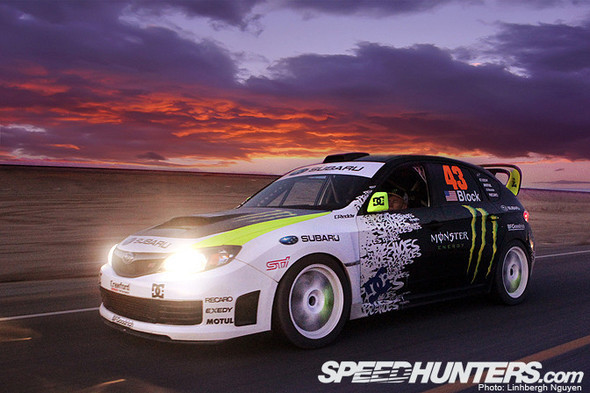 KEN BLOCK, THE SUBARU, & THE SEA. Изображение № 15.