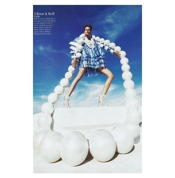 Изображение 43. Съемки: Harper's Bazaar, Industrie, Vogue и другие.. Изображение № 90.