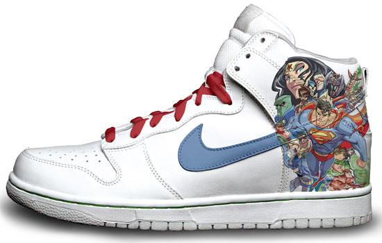 Метаморфозы белых кроссовок Nike. Изображение № 19.