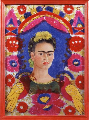 Фрида Кало «Рамка». Изображение № 1.