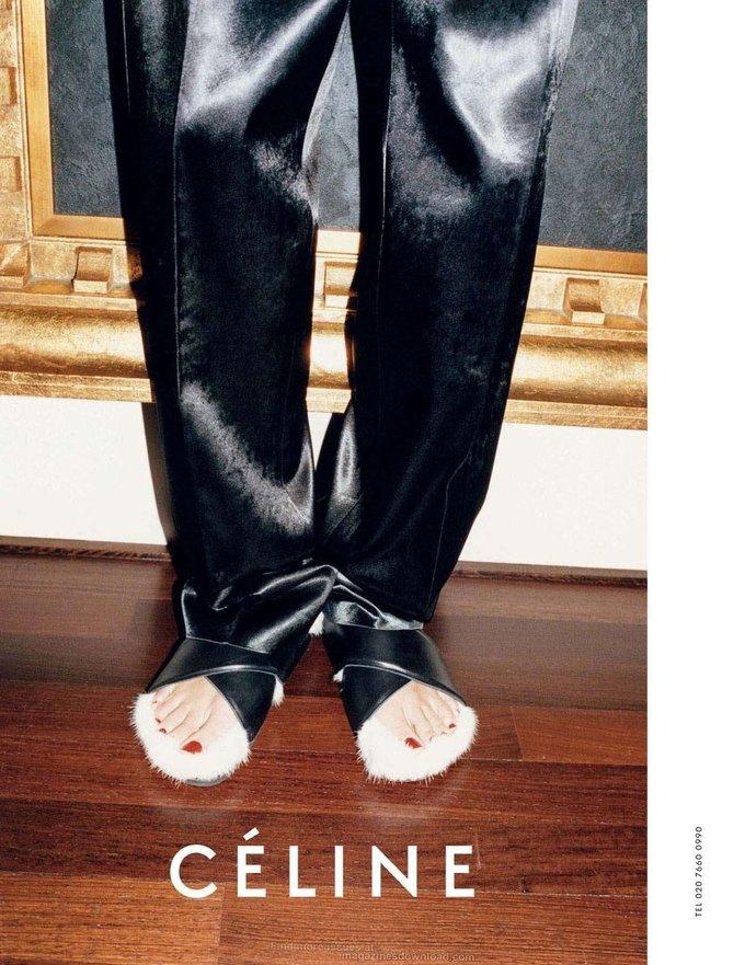 Alexander McQueen, Celine и LUBLU Kira Plastinina показали новые кампании. Изображение № 20.