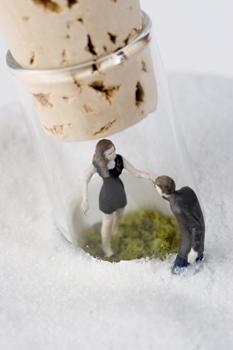 Нетрадиционный подход кфигуркам встеклянном шаре. Изображение № 49.
