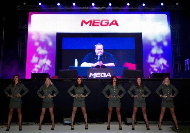Ким Дотком представил новый файлообменник Mega. Изображение № 1.