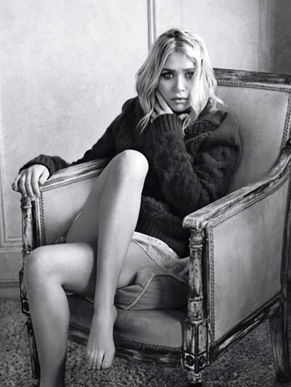 Ashley Olsen наобложке Marie Claire (Сентябрь 2009). Изображение № 5.