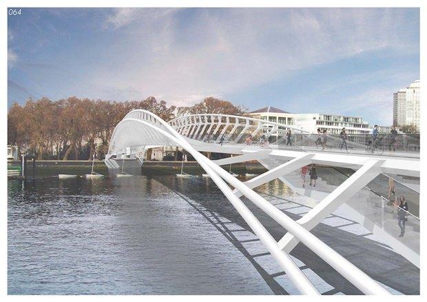 Выложены 74 проекта нового моста через Темзу. Изображение № 2.