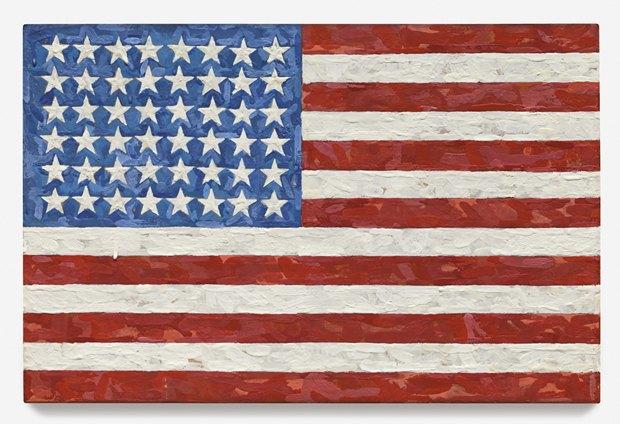 Flag Джаспера Джонса, $36 млн . Изображение № 4.