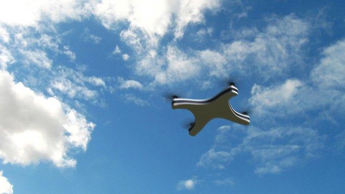 Немецкий дизайнер показал концепт Apple Drone. Изображение № 5.