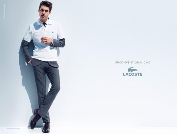 Изображение 1. Рекламные кампании: Lacoste, S by Max Mara, YSL и другие.. Изображение № 1.