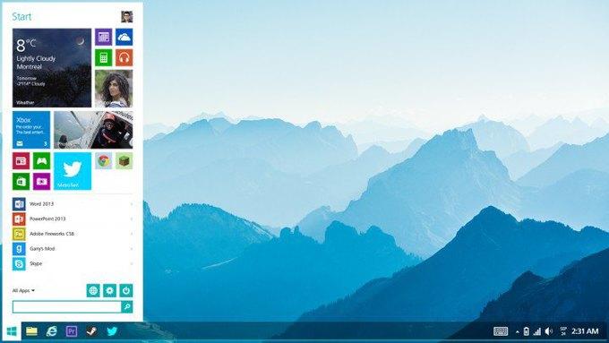 Неофициальная концепция Windows 8 авторства дизайнера Джея Махалани, которая отчасти демонстрирует будущие изменения операционной системы Microsoft. Изображение № 2.