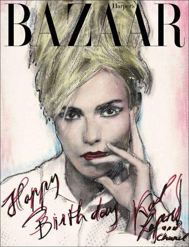 15 марок создали обложки к юбилею российского Harper's Bazaar. Изображение № 15.
